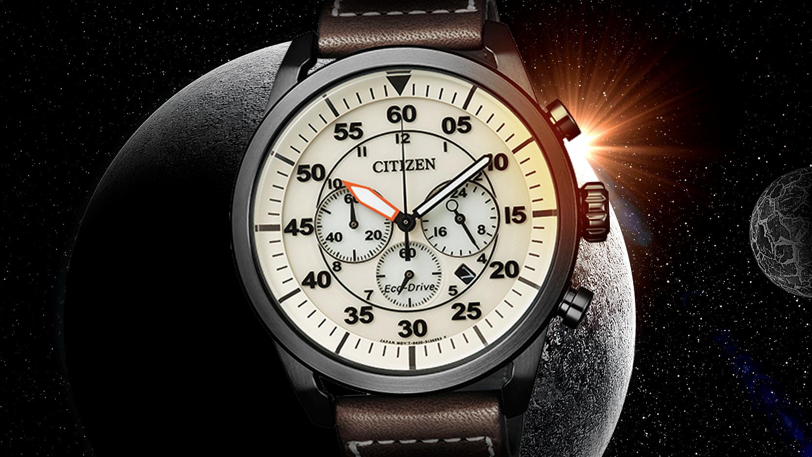 Conheça a linha de relógios sem bateria da Citizen